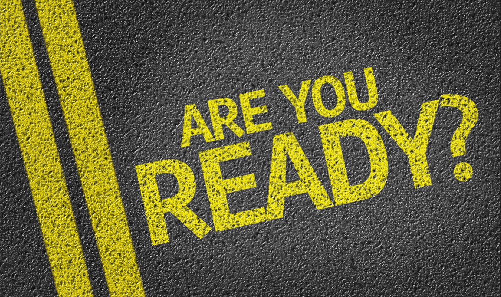 online presence life after lockdown - Are you Ready? written on the road
