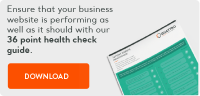 Download your 36 point website healthcheck