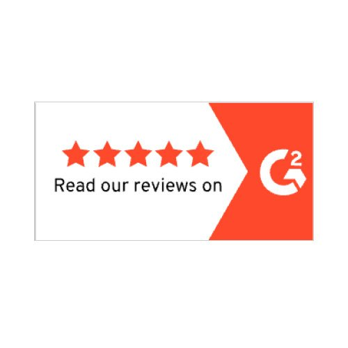 Read our G2 Reviews